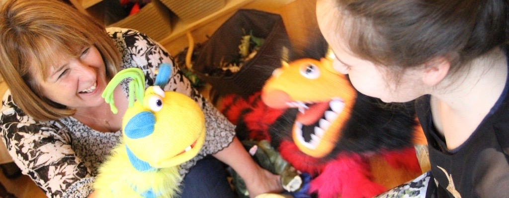 puppets at play